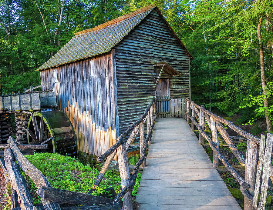 John P Cable Grist Mill by Dan Sproul