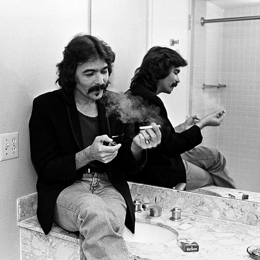 John Prine Portrait Session Photograph by George Rose