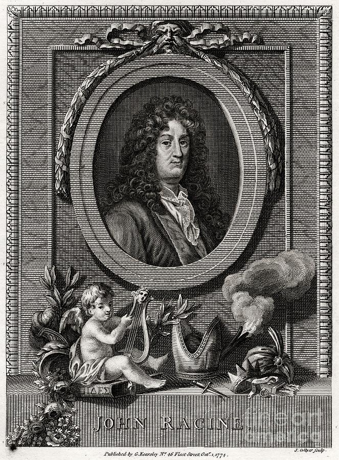John Racine, 1774. Artist J Collyer Drawing by Print Collector
