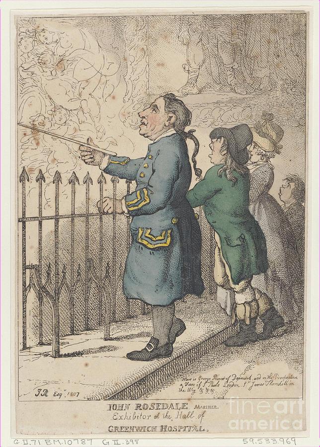 John Rosedale Mariner Drawing by Heritage Images