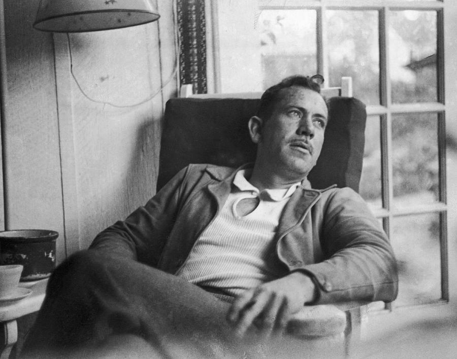 John Steinbeck Photograph by Peter Stackpole