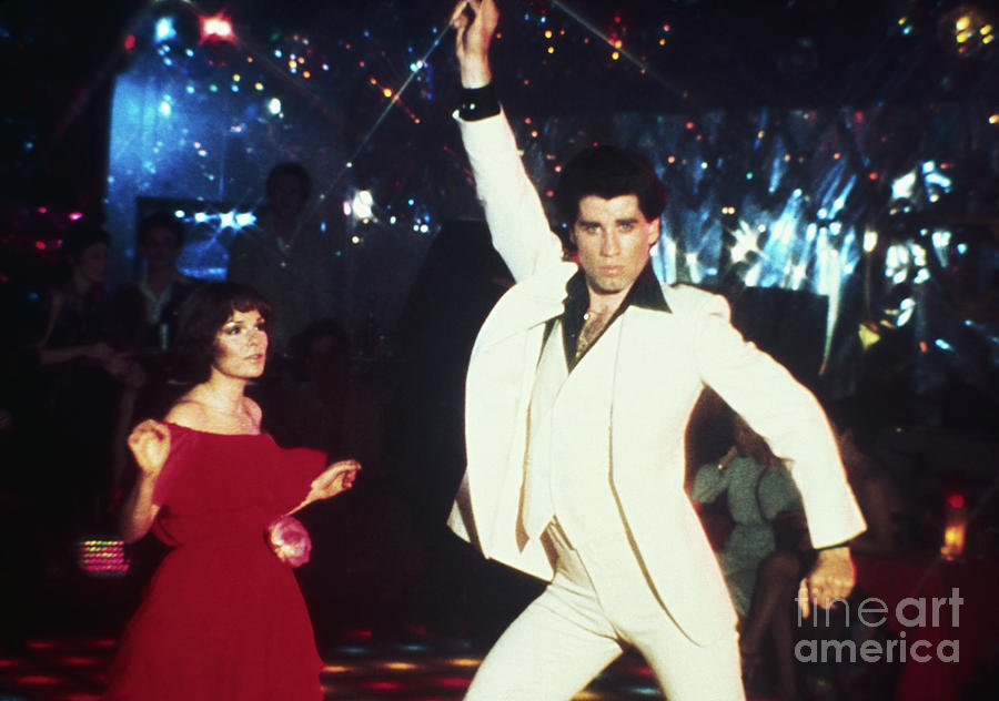 John Travolta Dancing In Saturday Night Photograph by Bettmann