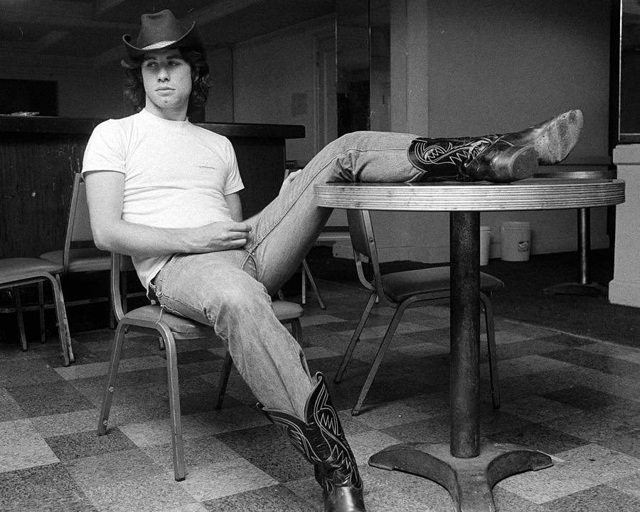 John Travolta, With His Hat And Boots Photograph by New York Daily News Archive