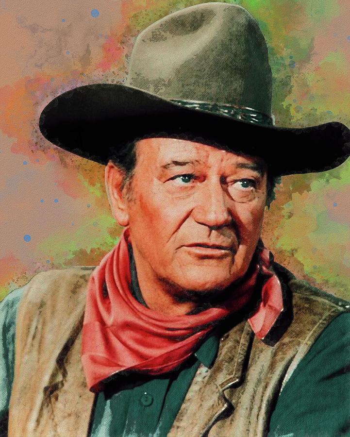 John Wayne by Max Huber