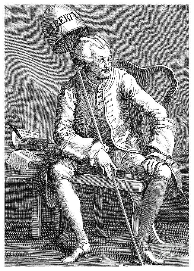 John Wilkes, English Politician, 1763 Drawing by Print Collector