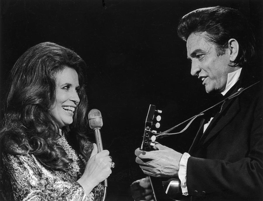 Johnny And June Photograph by Archive Photos