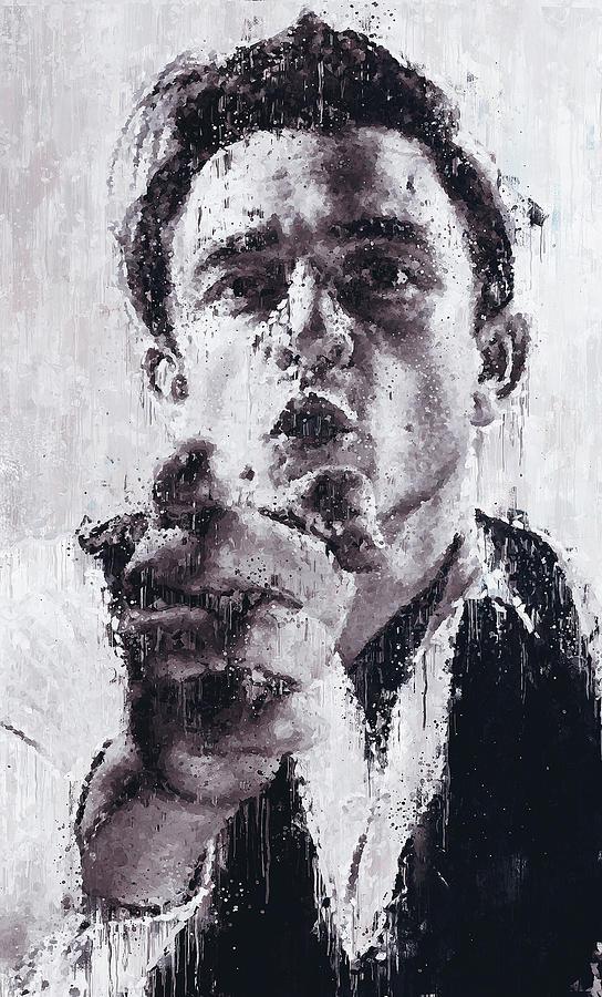 Johnny Cash - 01 by Andrea Mazzocchetti
