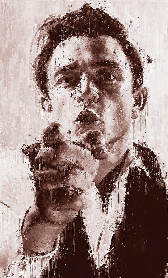 Johnny Cash - 02 by Andrea Mazzocchetti
