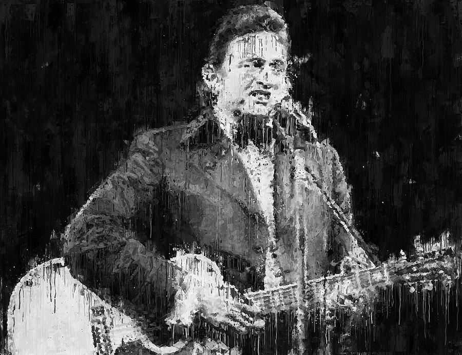 Johnny Cash - 04 by Andrea Mazzocchetti
