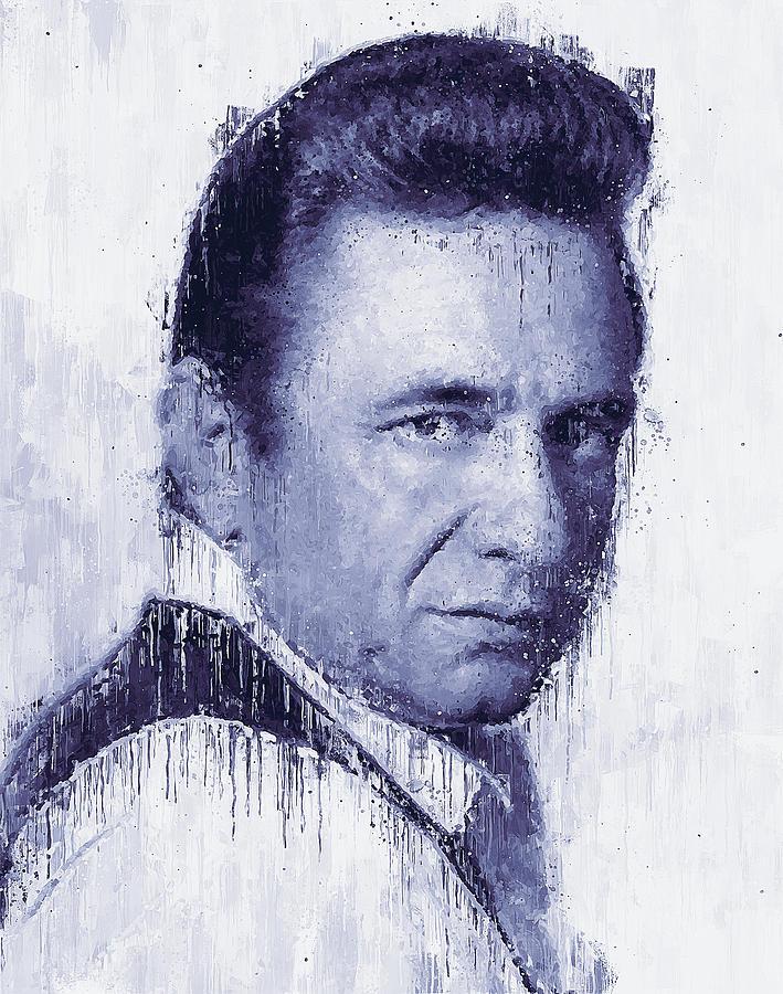 Johnny Cash - 05 by Andrea Mazzocchetti