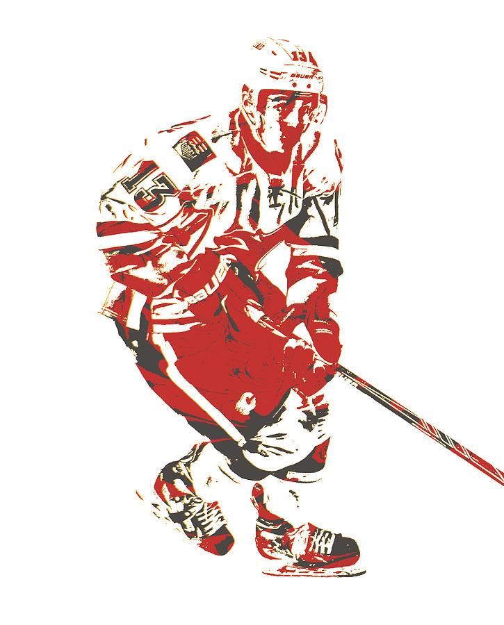 new style 2cfbd dde42 Johnny Gaudreau Calgary Flames Pixel Art 2