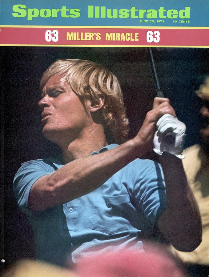 Johnny Miller, 1973 Us Open Sports Illustrated Cover Photograph by Sports Illustrated