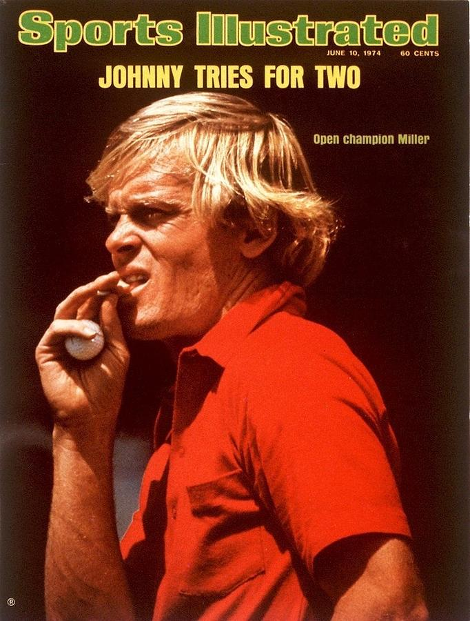 Johnny Miller, 1974 Masters Sports Illustrated Cover Photograph by Sports Illustrated