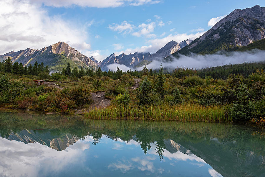 Johnston Canyon Ink Pots Banff Canada Reflection by Toby McGuire
