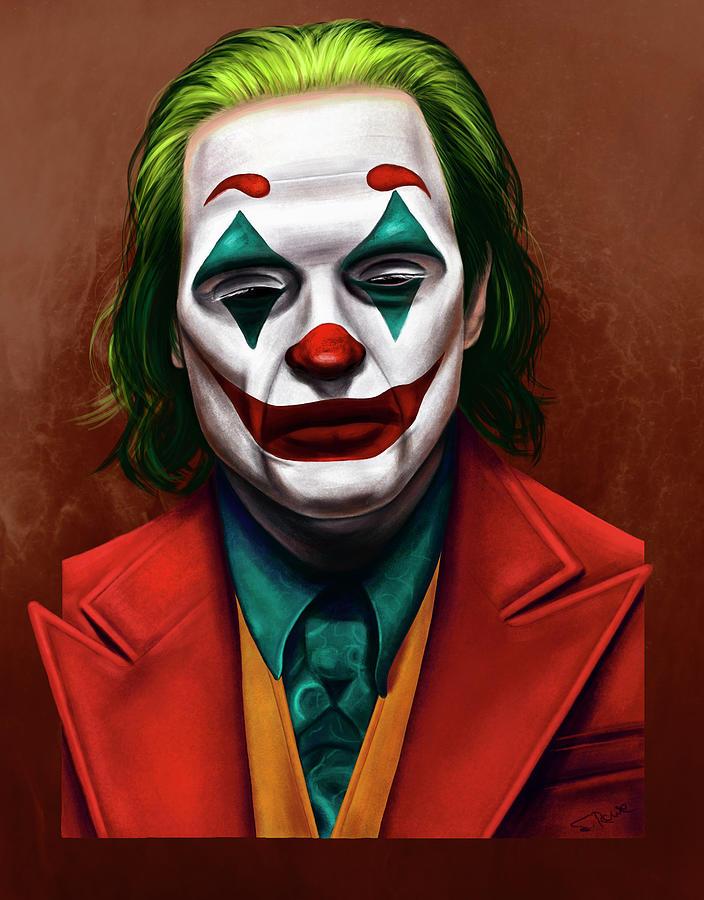 Joker 2019 Painting by Shawna Rowe