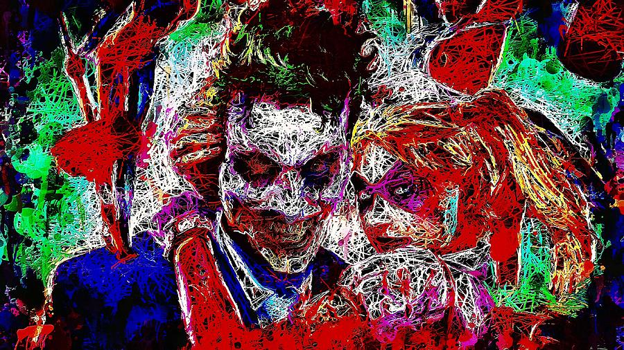 Joker and Harley Quinn 2 by Al Matra