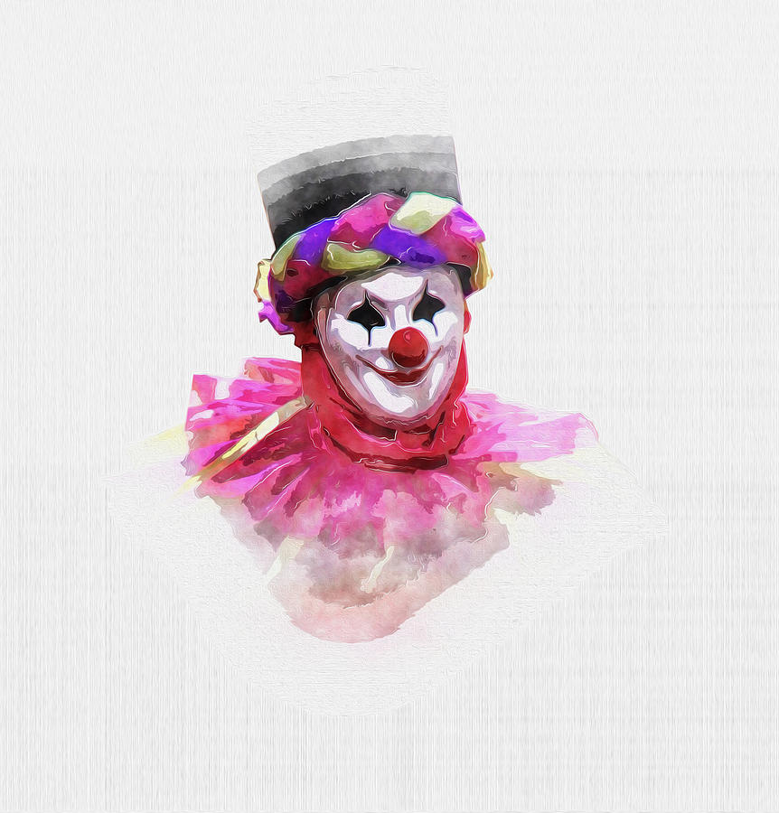Joker the clown by Luisa Vallon Fumi