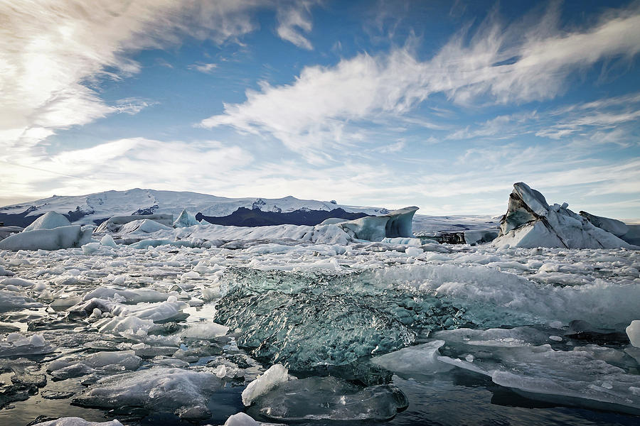 Iceland Photograph - Jokulsarlon #2 by Framing Places