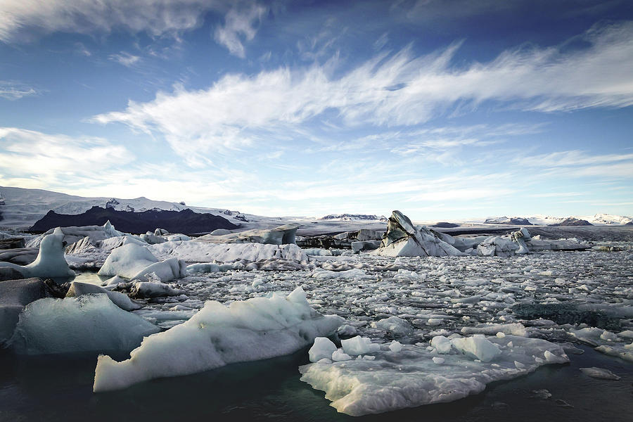 Iceland Photograph - Jokulsarlon by Framing Places