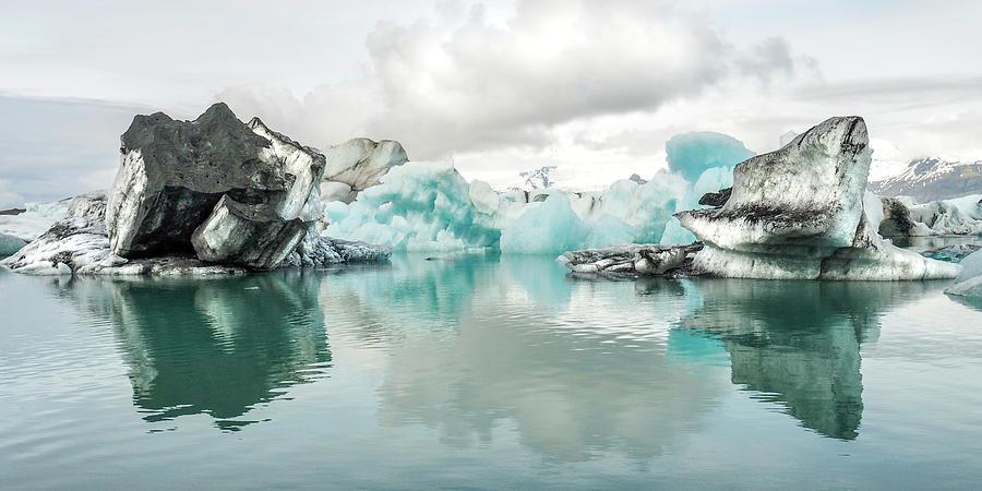 Jokulsarlon - Iceland Lagoon by Marla Craven