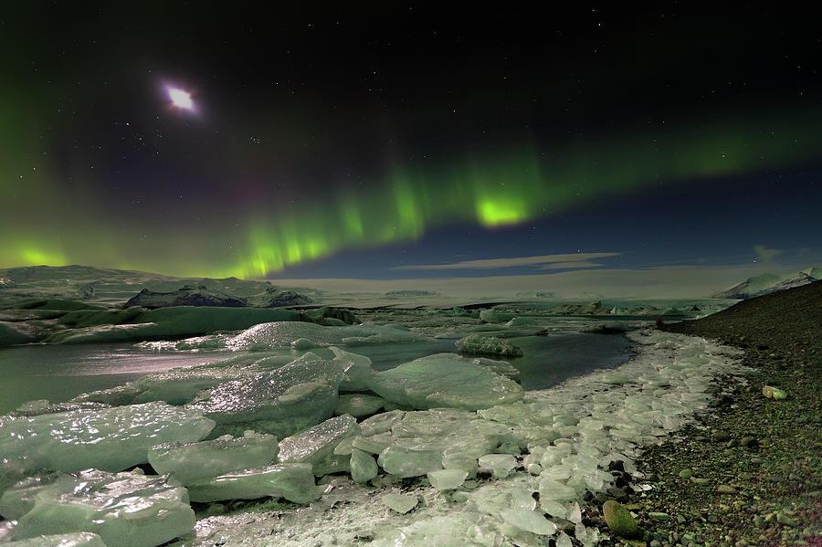 Jokulsarlon Islandia Photograph by Martin Zalba