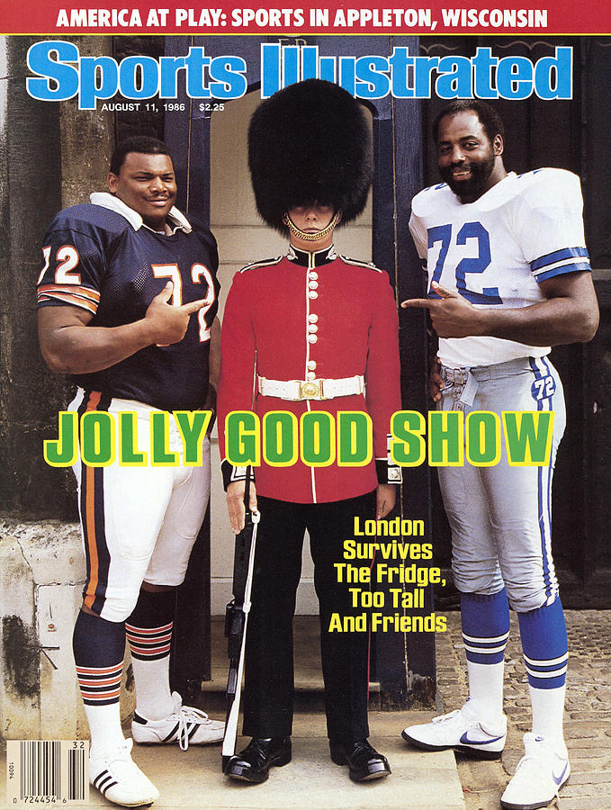 Jolly Good Show London Survives The Fridge, Too Tall And Sports Illustrated Cover Photograph by Sports Illustrated