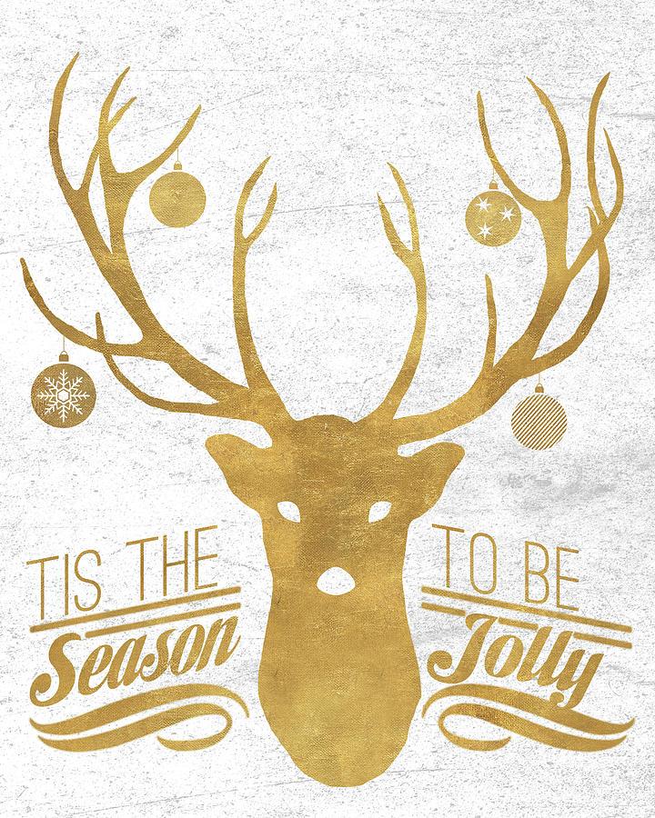 Jolly Digital Art - Jolly Reindeer by Nicholas Biscardi