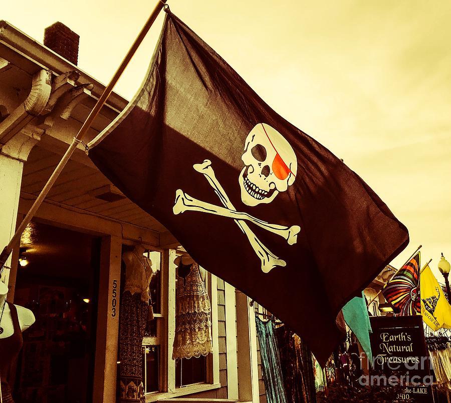 Jolly Roger Flag Photograph