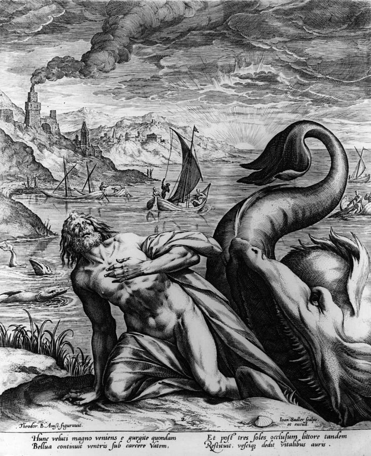 Jonah And Whale Digital Art by Hulton Archive
