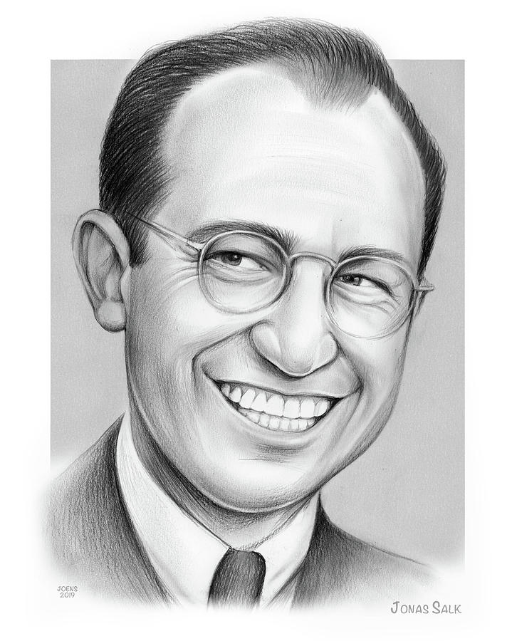 Jonas Salk by Greg Joens