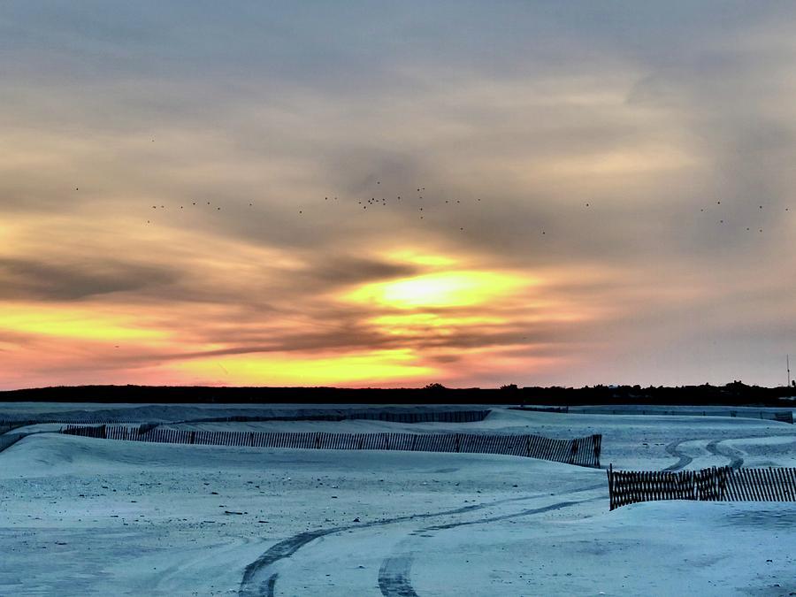 Jones Beach Sunset by JACK RIORDAN