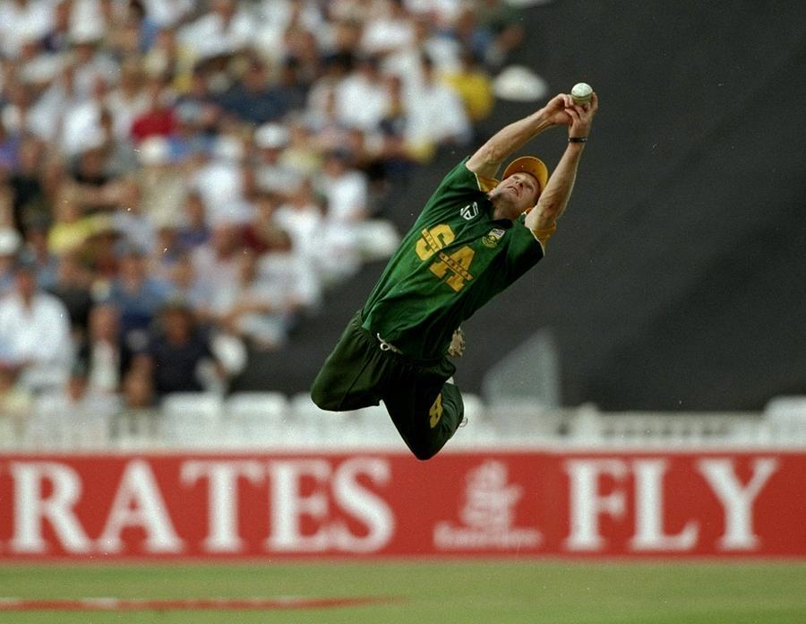 Jonty Rhodes Of South Africa Photograph by Adrian Murrell