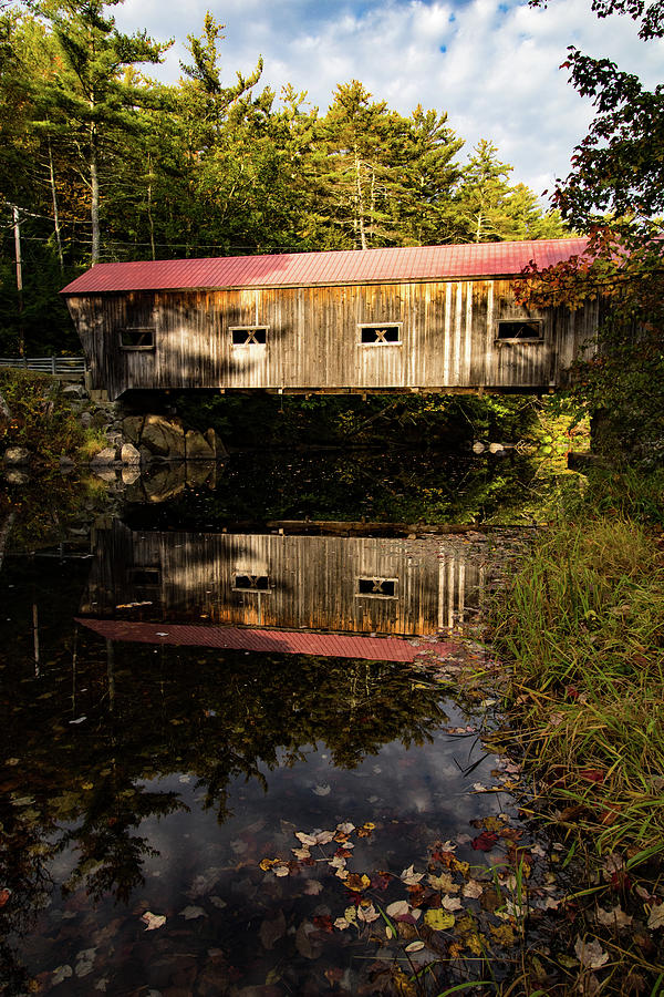 Joppa Covered Bridge by Jeff Folger