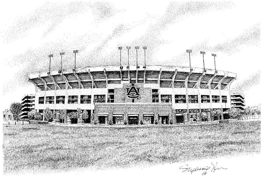 Jordan Hare Stadium, Auburn University, Auburn, Alabama