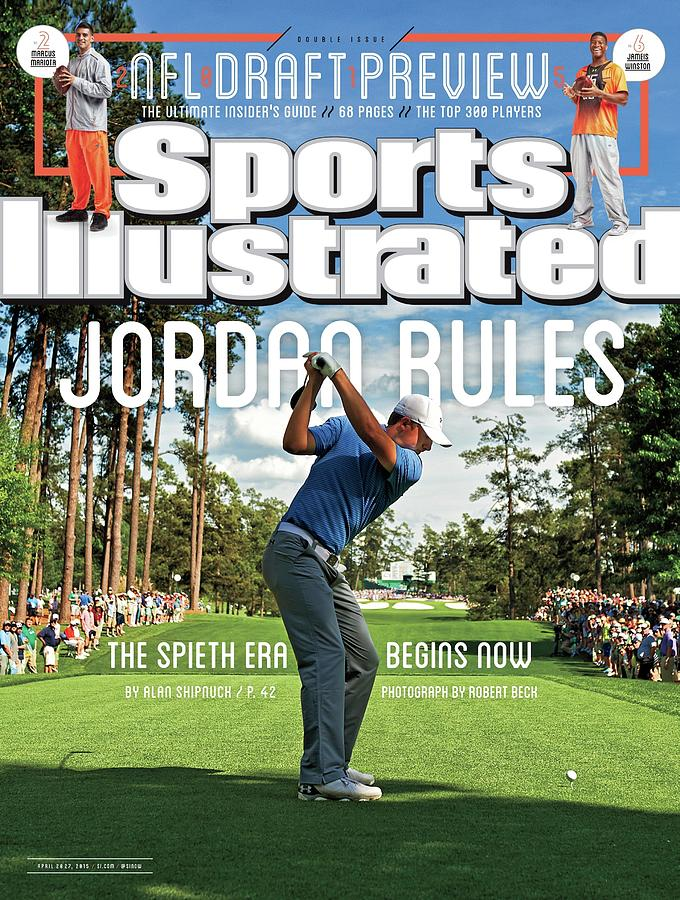 Jordan Rules The Spieth Era Begins Now Sports Illustrated Cover Photograph by Sports Illustrated