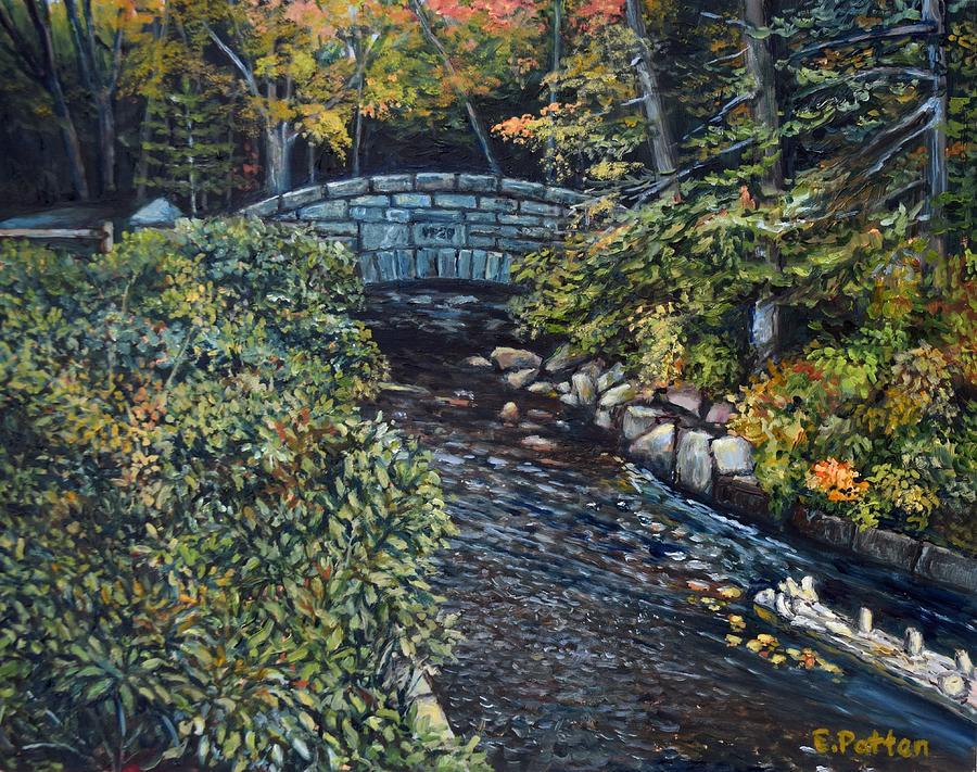 Jordan Stream Bridge, Acadia National Park by Eileen Patten Oliver