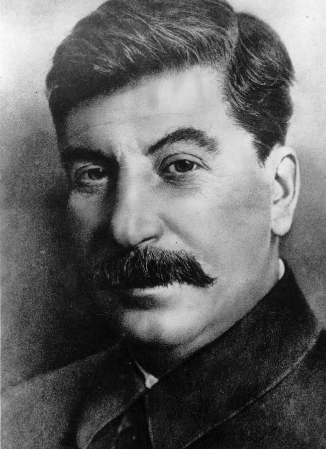 Josef Stalin Photograph by Hulton Archive