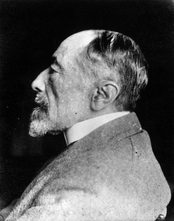 Joseph Conrad Photograph by Spicer-simson