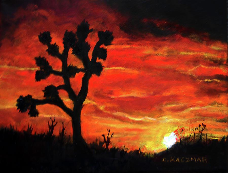 Joshua at Sunset by Olga Kaczmar