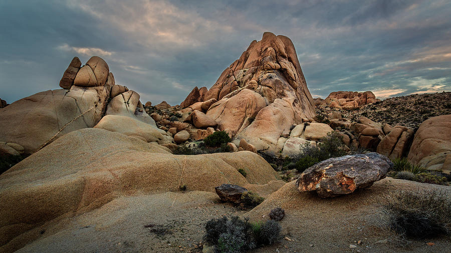 Joshua Tree Rock Formations by Rick Strobaugh