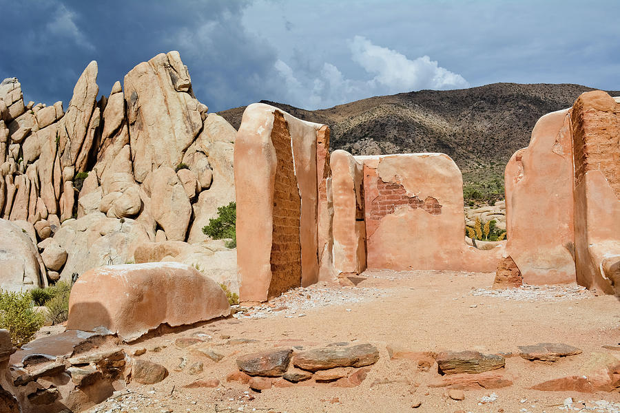 Joshua Tree Ryan Ranch Ruins by Kyle Hanson