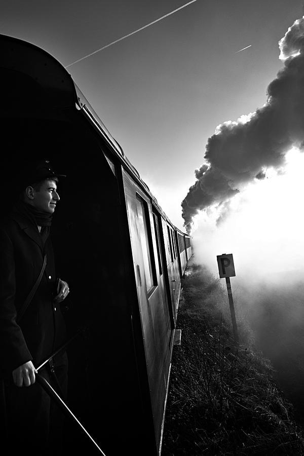 Smoke Photograph - Journey To The Past by Arnd Gottschalk