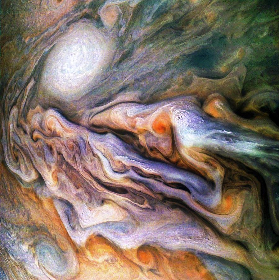 Jupiter Photograph - Jovian Close Encounter by Nasa