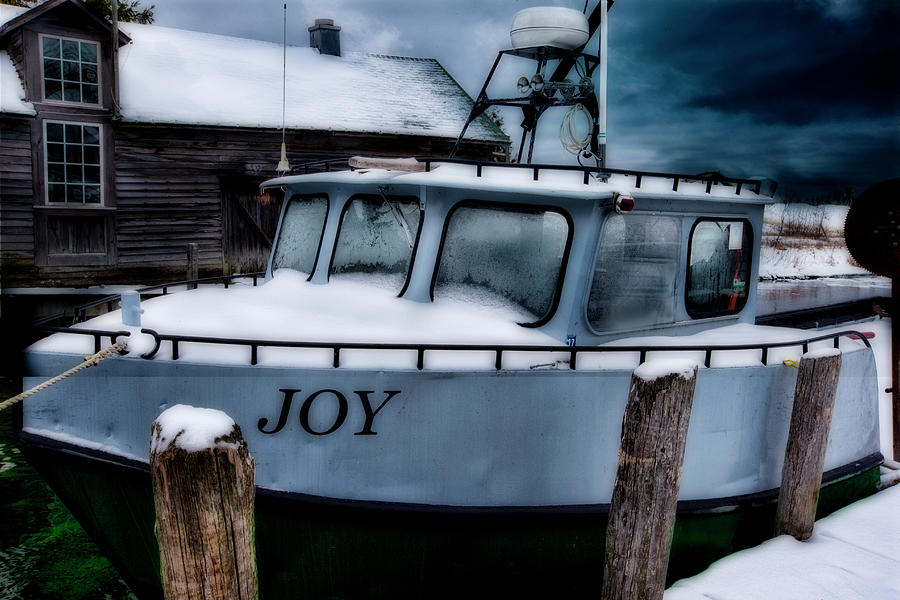 Joy at Fishtown Michigan by Evie Carrier