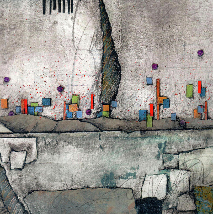 Grays Mixed Media - Joy Of Everyday by Laura  Lein-Svencner