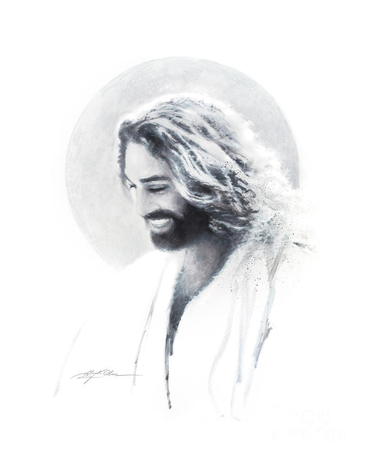 Joy of the Lord Vignette by Greg Olsen