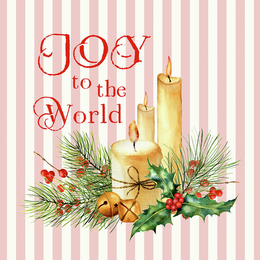 Christmas Digital Art - Joy To The World by HH Photography of Florida