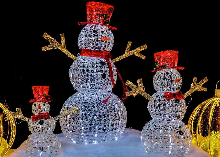 Joyous Snowmen by Robert Wilder Jr