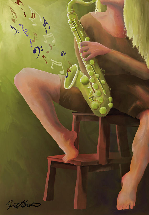 Joys of the Saxophone by April Burton