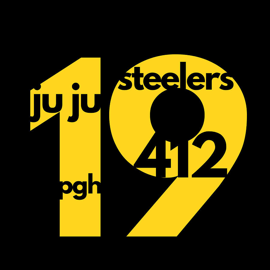 timeless design 78dce 603e1 Ju Ju Smith Schuster Jersey Number